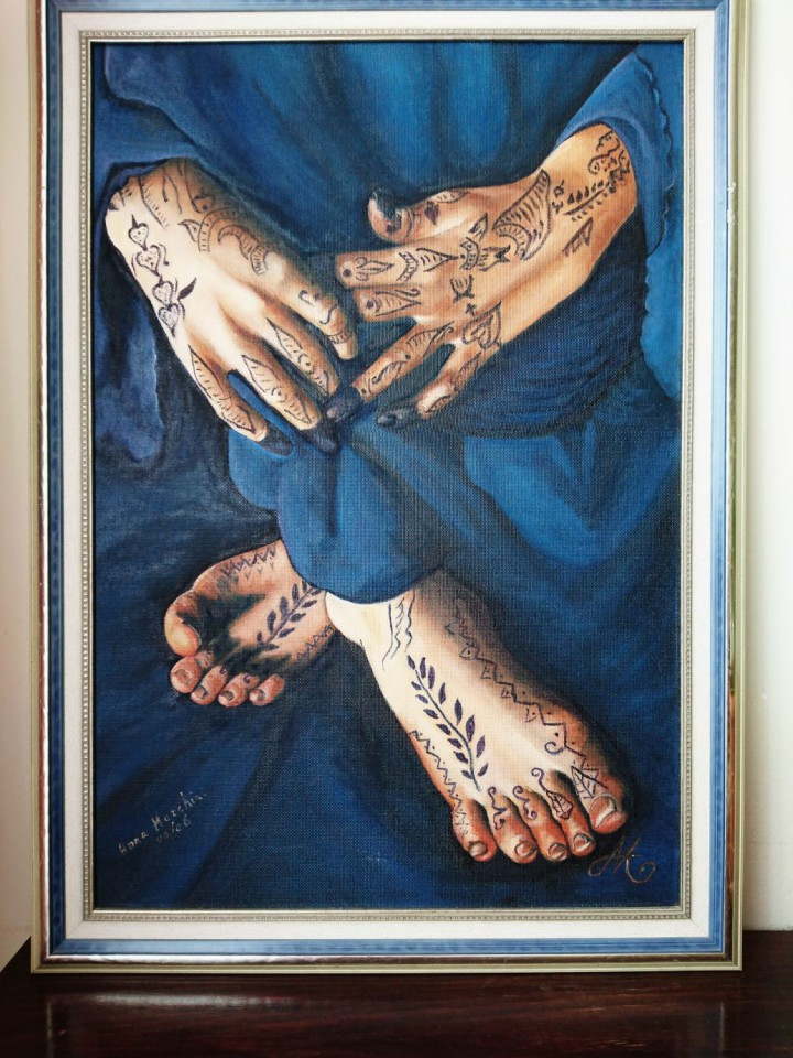 Título: Tatuajes de henna Autora: Ana María Marchini