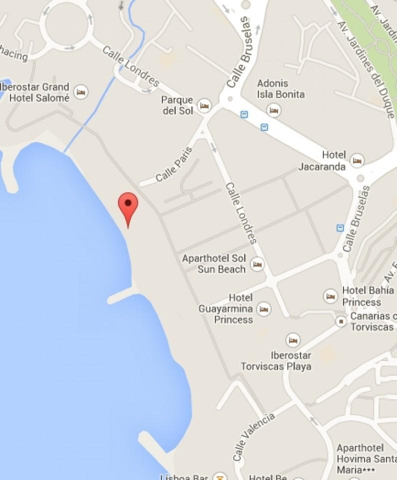 Puesto de vigilancia - Playas de Torviscas y Fañabé